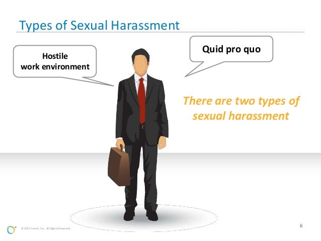 Two types of sexual harassment pics 1