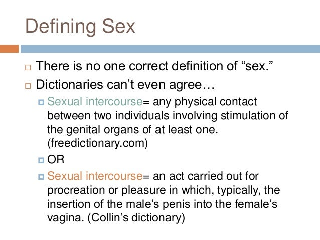 Sexual Health Definition Dictionary