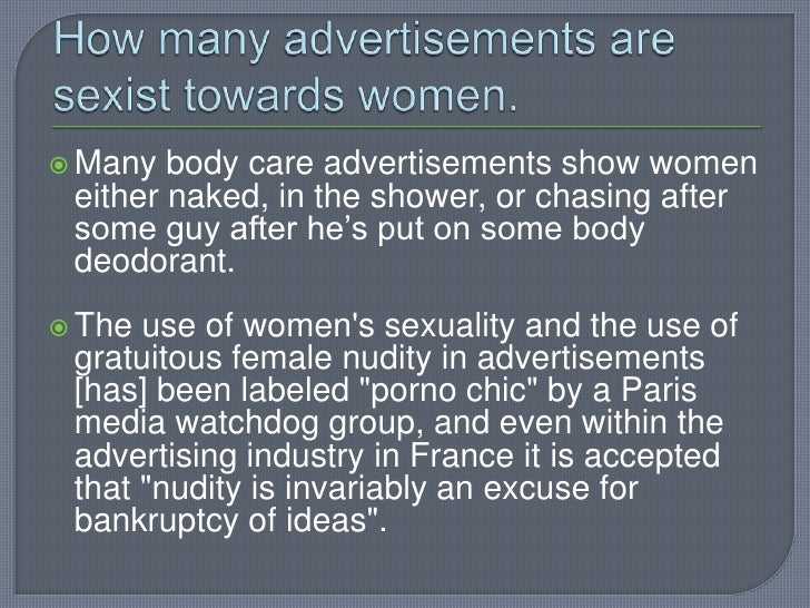 Sexism Towards Women 59