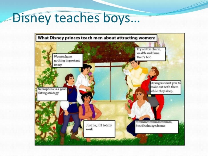 sexism and disney Surely, our children are in safe hands with disney, right wrong there's enough  casual racism and sexism in disney cartoons to fuel a.