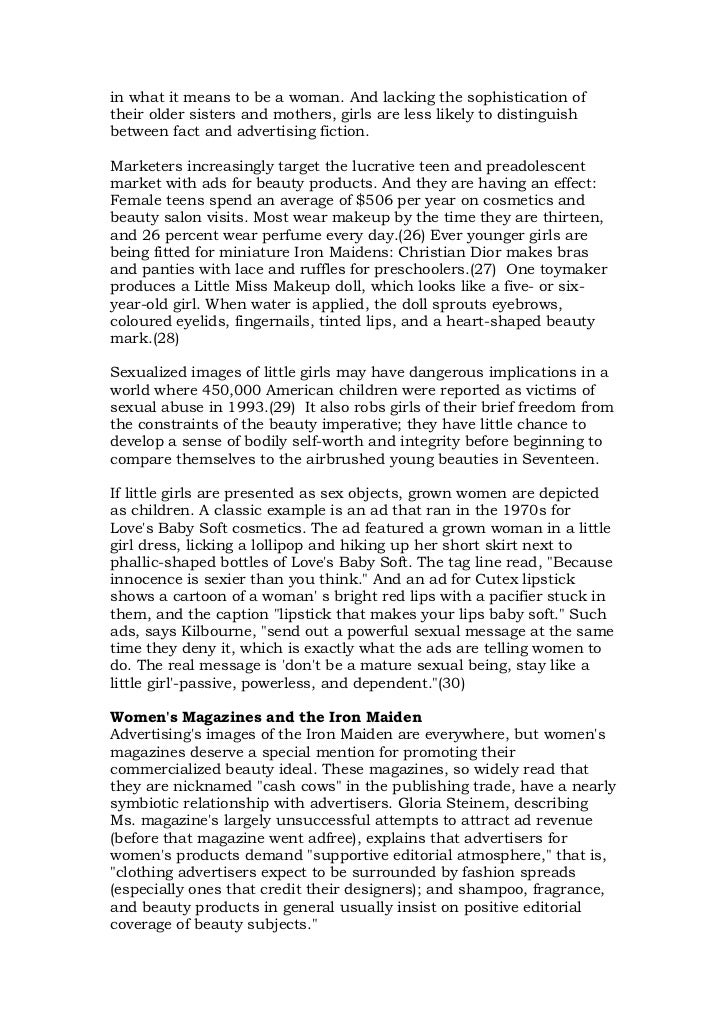 sexuality and advertising An essay or paper on sexuality in advertising sexuality in advertising serves several purposes the prevalent view is that sex itself is appealing, so it gets people.