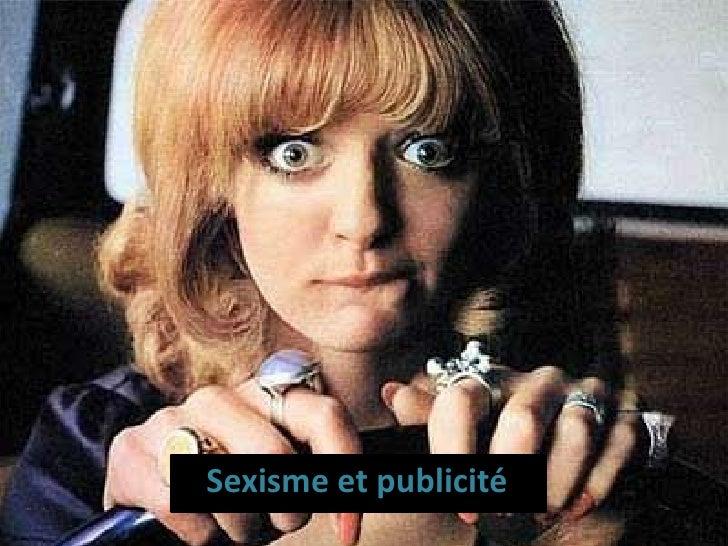 Sexisme et publicité