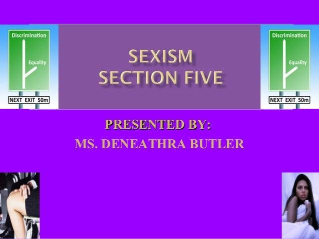 PRESENTED BY:MS. DENEATHRA BUTLER