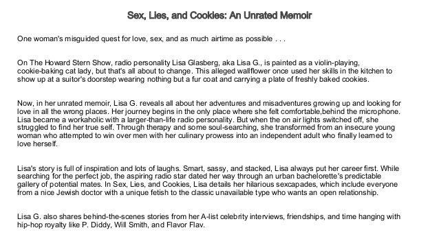 Sex, Lies, and Cookies: An Unrated Memoir