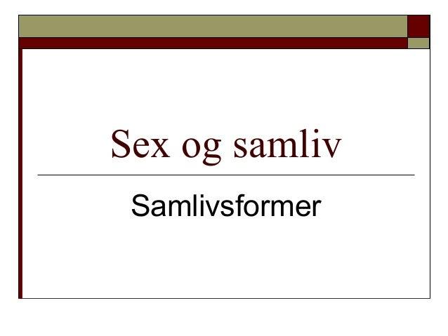 sex online sex og samliv
