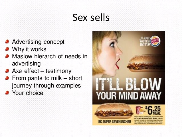 Why Sex Sells In Advertising 107