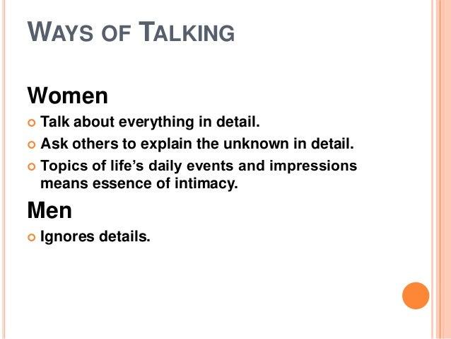 Women Sex Talk