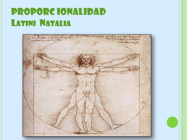 PROPORC IONALIDADLATINI NATALIA