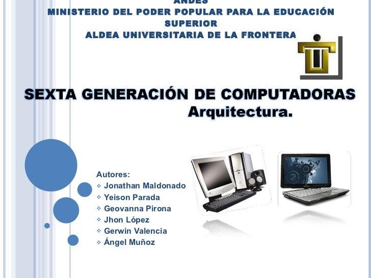 INSTITUTO UNIVERSITARIO DE TECNOLOGIA REGIÓN LOS ANDES MINISTERIO DEL PODER POPULAR PARA LA EDUCACIÓN SUPERIOR ALDEA UNIVE...