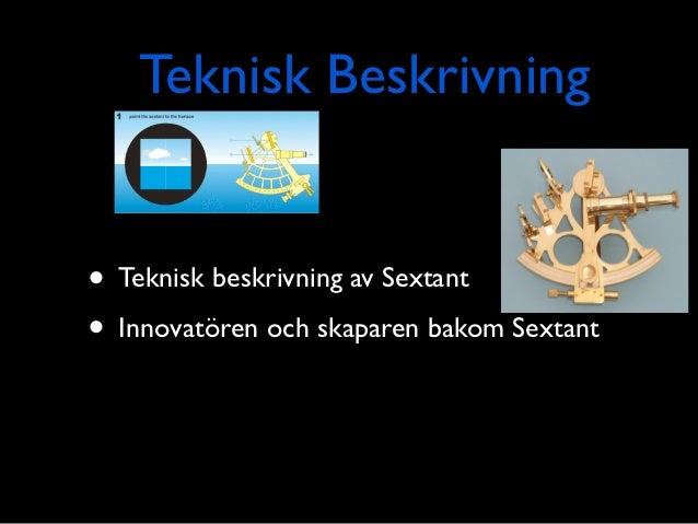 Sextant  Slide 3