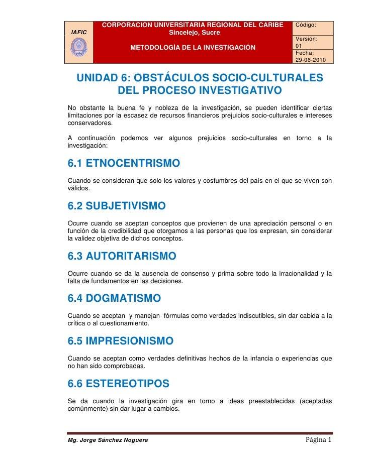 CORPORACIÓN UNIVERSITARIA REGIONAL DEL CARIBE                      Código:  IAFIC                     Sincelejo, Sucre    ...