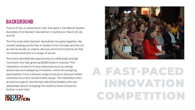 Sydney Sextech Hackathon Report 2018  Slide 3