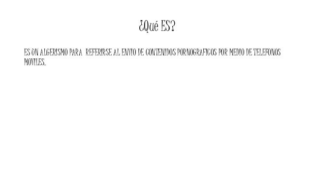 SEXTING Slide 2