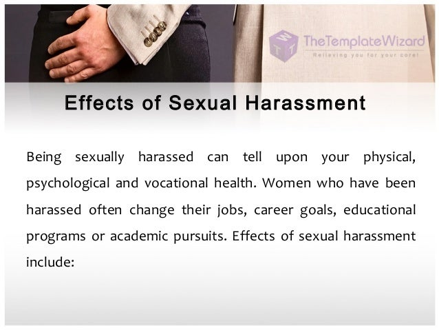 What Are The Consequences Of Sexually Harassing
