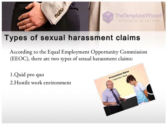 Two types of sexual harassment in the workplace