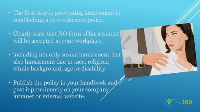 The plague of sexual harassment in