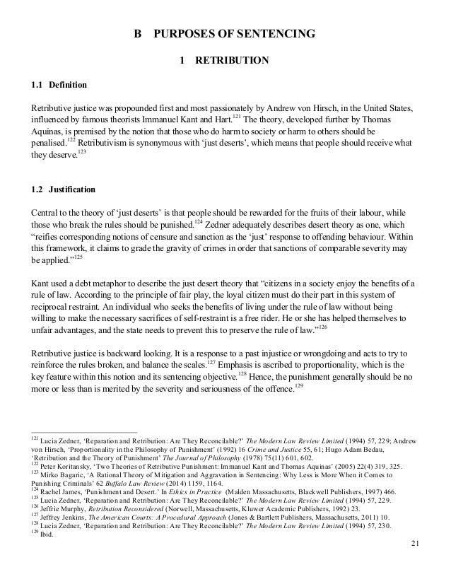 Intrinsic desert thesis kant