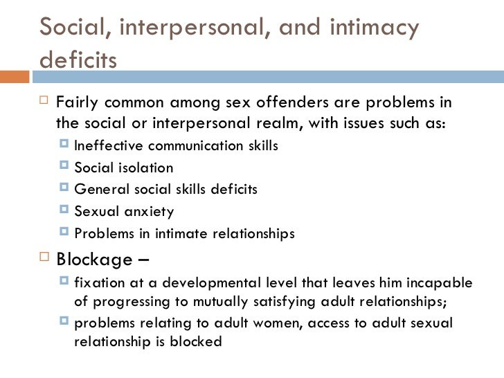 sexual abuse and intimacy issues