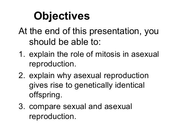 Sexual vs asexual reproduction worksheet