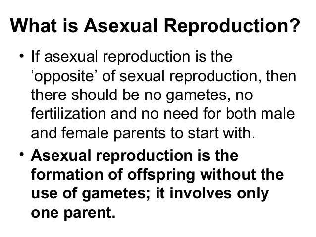 Asexual meaning biology