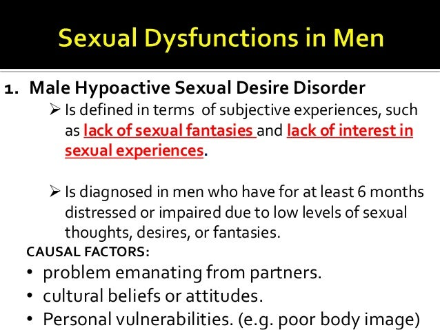Male hypoactive sexual desire disorder images 83
