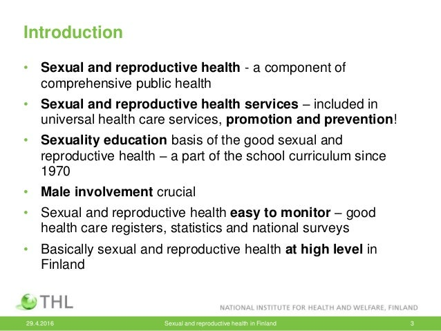 Sexual and reproductive health education curriculum