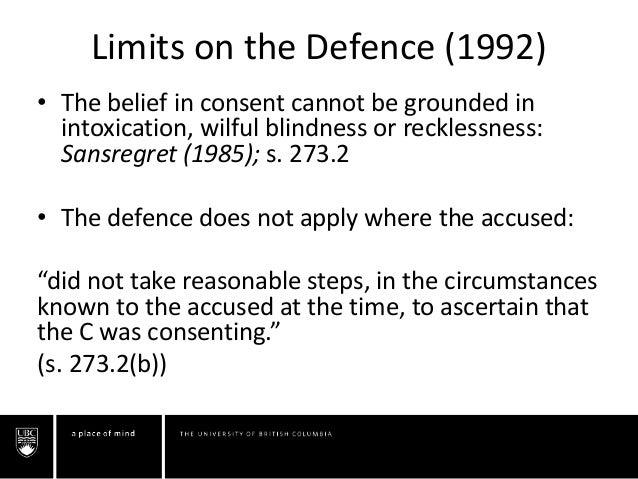 affirmative consent canada