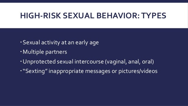 Age inappropriate sexualised behaviour