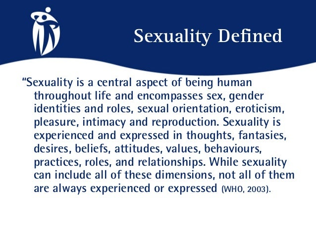 Sexuality meaning definition