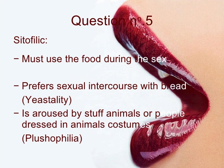 best foods to use during sex