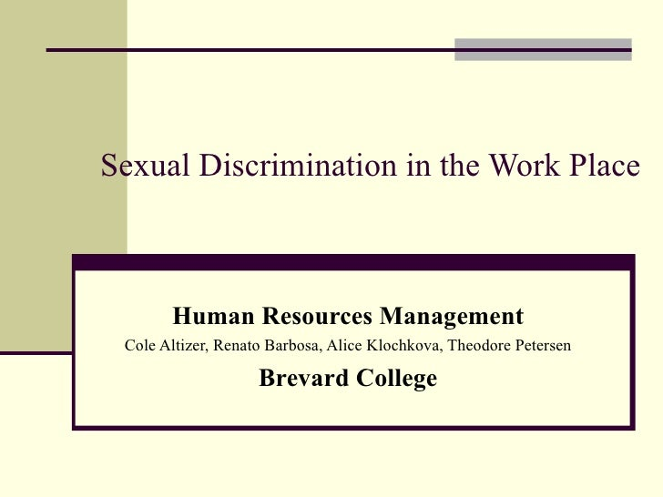 gender discrimination in society and the workplace essay Essay gender discrimination in the workplace - female inequality in workplace is one of the harmful aspect that is afflicting the entire society this is also called the gender discrimination which has been followed since the ancient past and still a serious predicament even with the advancement of 21 century.