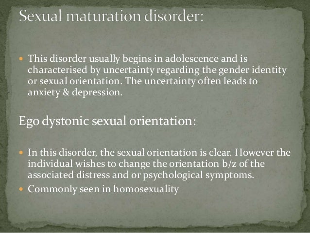 Ego syntonic homosexuality