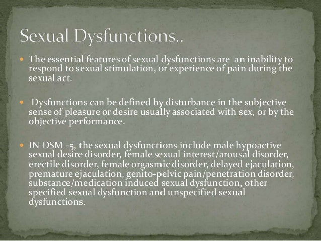 Female sexual arousal disorder definition