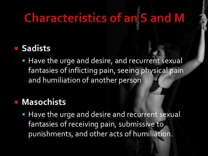 What does it mean to be sexually submissive