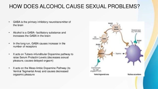 Paxil and sexual side effects and alcohol