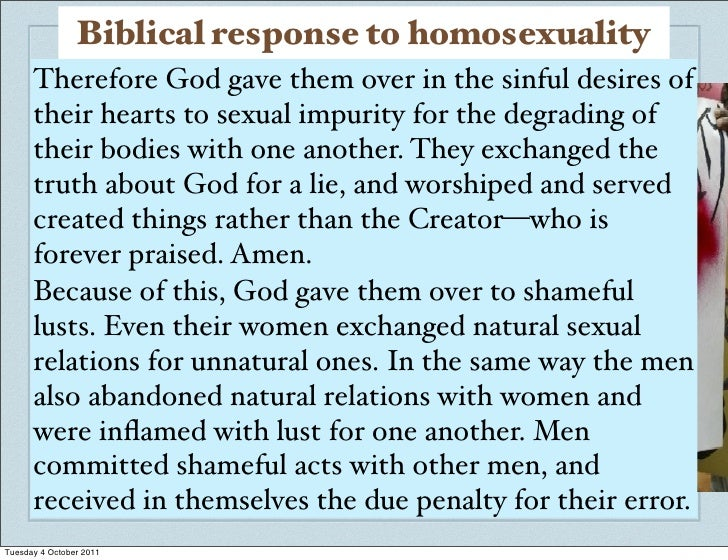 morals surrounding homosexuality It is true that we sometimes speak of a group's morals, or we must therefore examine that discriminatory concept of a moral position homosexuality becomes.