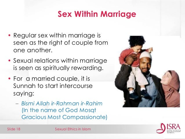 Sex Within The Marriage