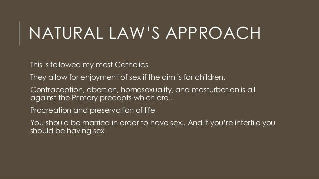 Catholic sexual ethics for married couples