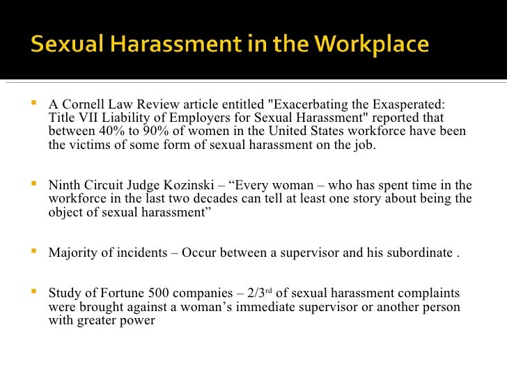 Anti sexual harassment meaning in urdu
