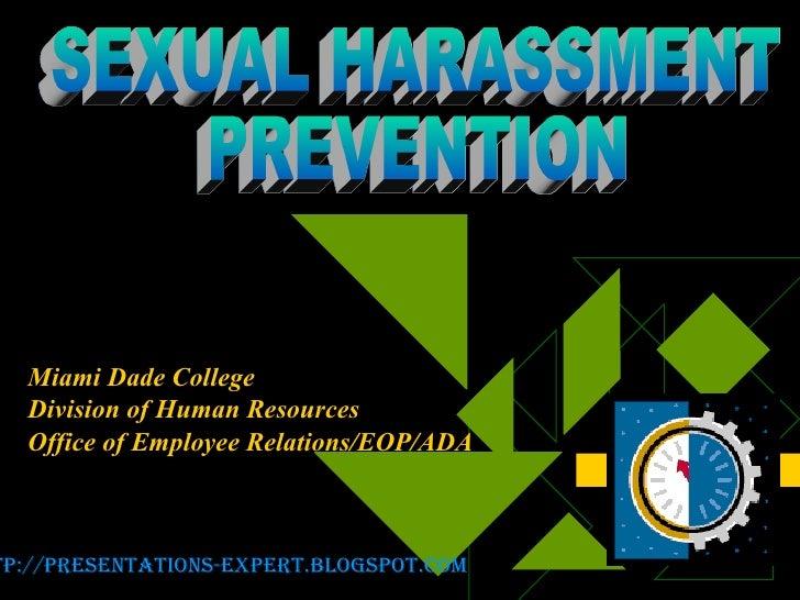 Sexual Harassement