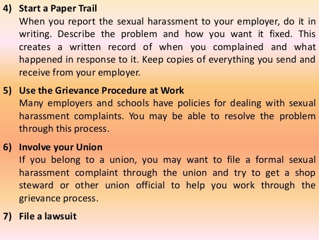 sexual harassment thesis Sexual harassment within the workplace select one of the following issues affecting the workplace and working environment you may narrow the range of the topic by.