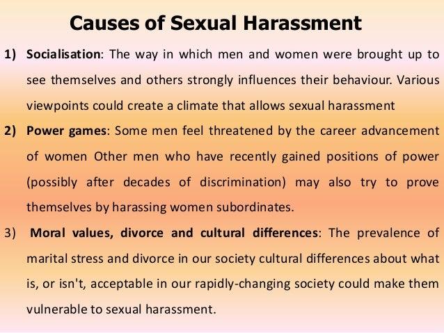 Causes of sex discrimination