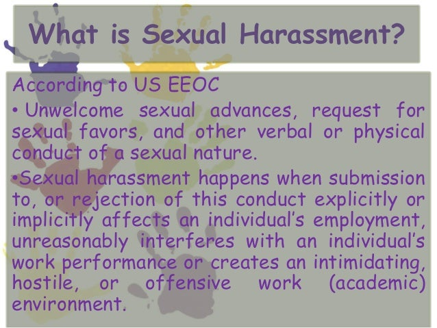 scholarly articles or blog posts at business office harassment