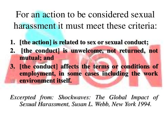 What is considered sexual harassment foto 90