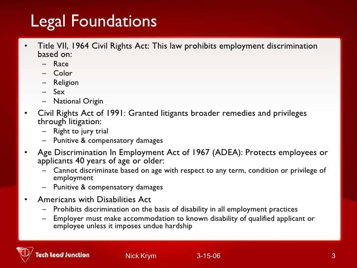 Civil rights act of 1991 compensatory and punitive damages for sexual harassment