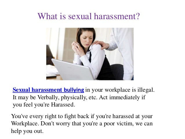 What Is Sexual Harrasment