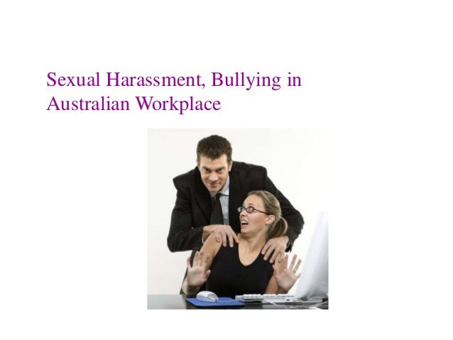 Harassment In A Workplace
