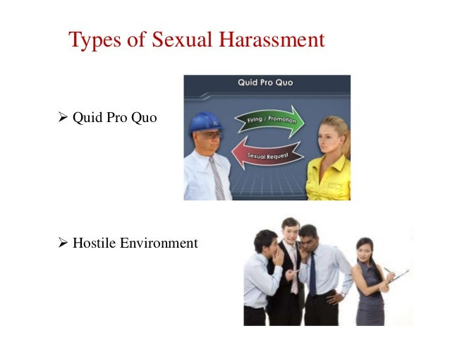 Sexual harassment and bullying in the workplace
