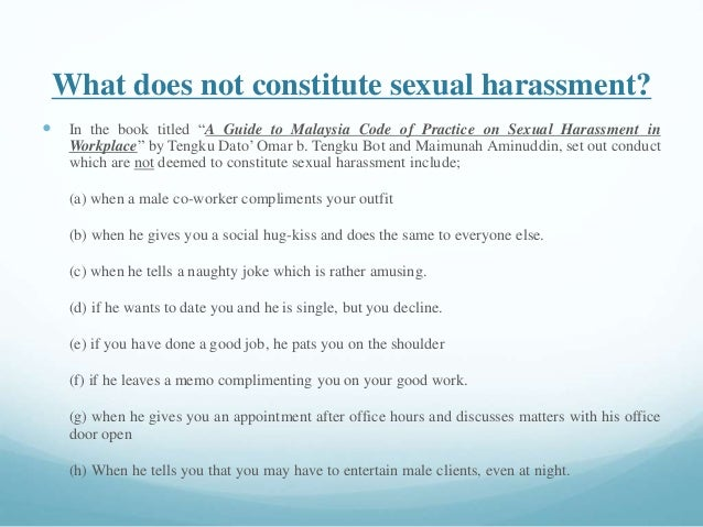 Research papers on sexual harassment