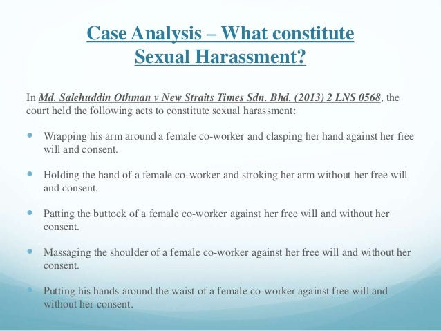 What is considered sexual harassment foto 50